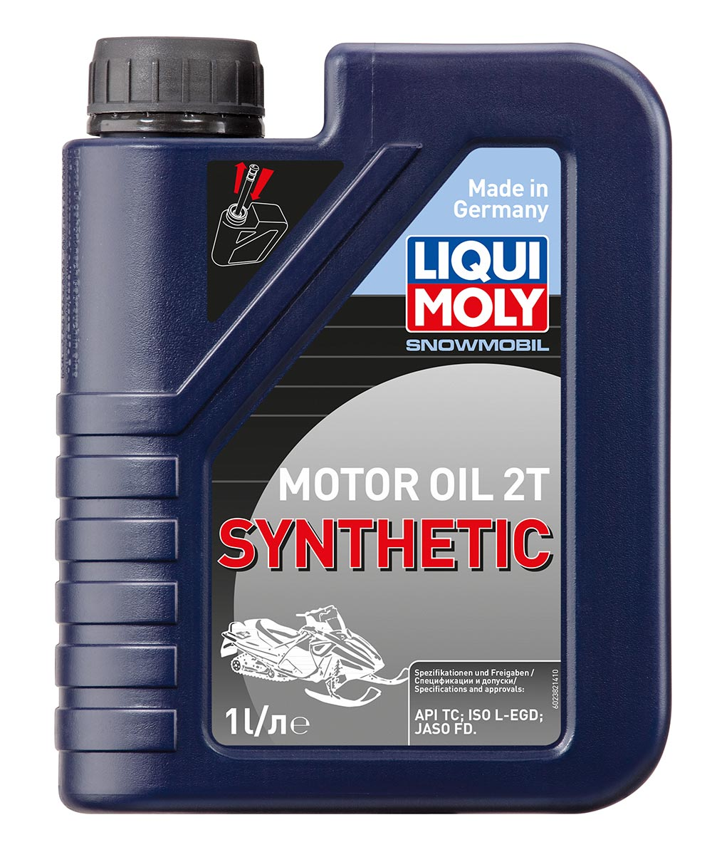 Синт.мот.маслод/снегох. Snowmobil Motoroil 2T Synthetic TC 1л