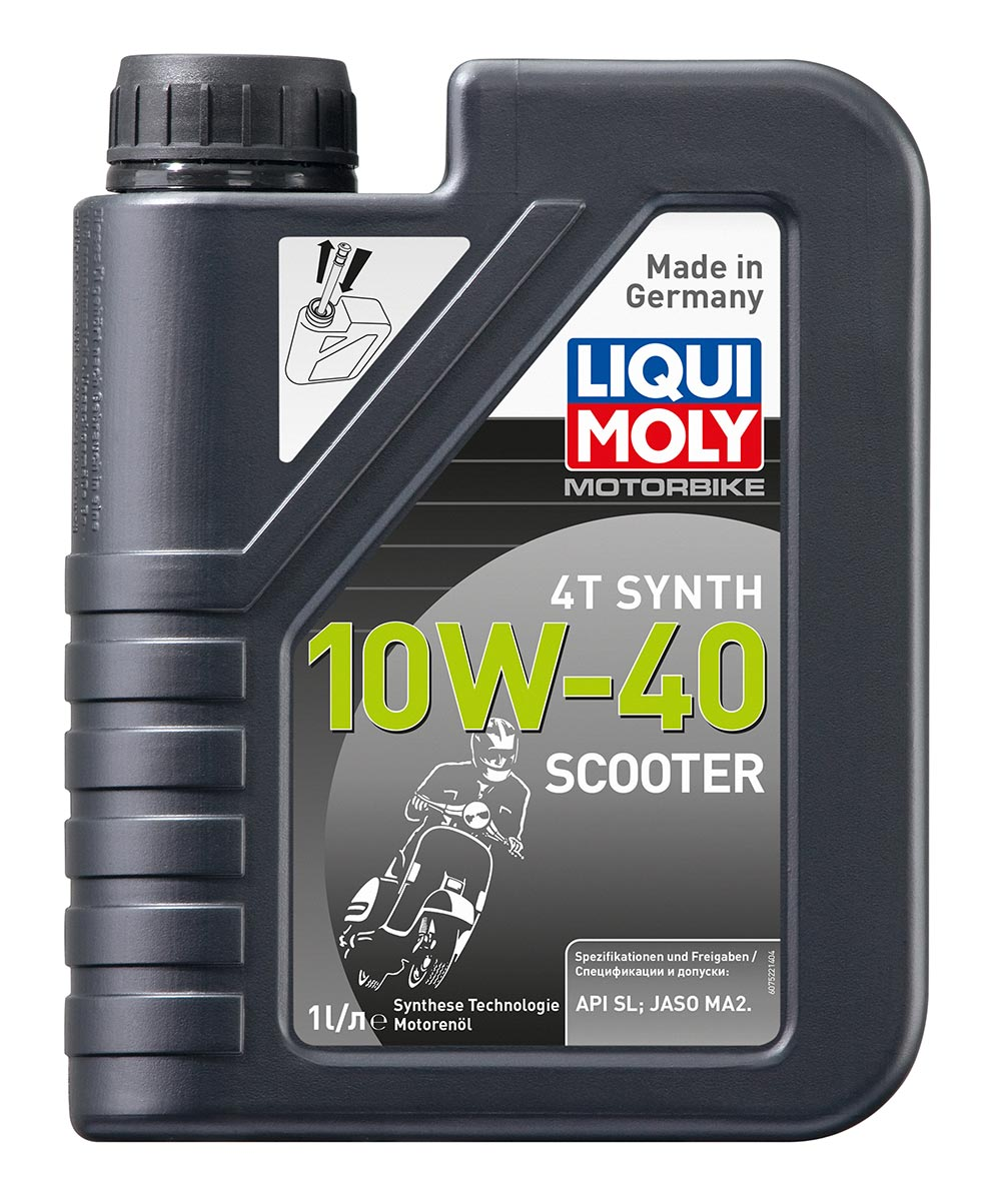 Масло моторное синт. Scooter Motoroil Synth 4T 10W-40 (1л)