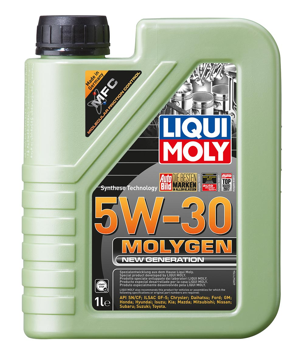 Масло моторное синт. Molygen New Generation 5W-30 SN/СF. ILSAC GF-5 (1л)