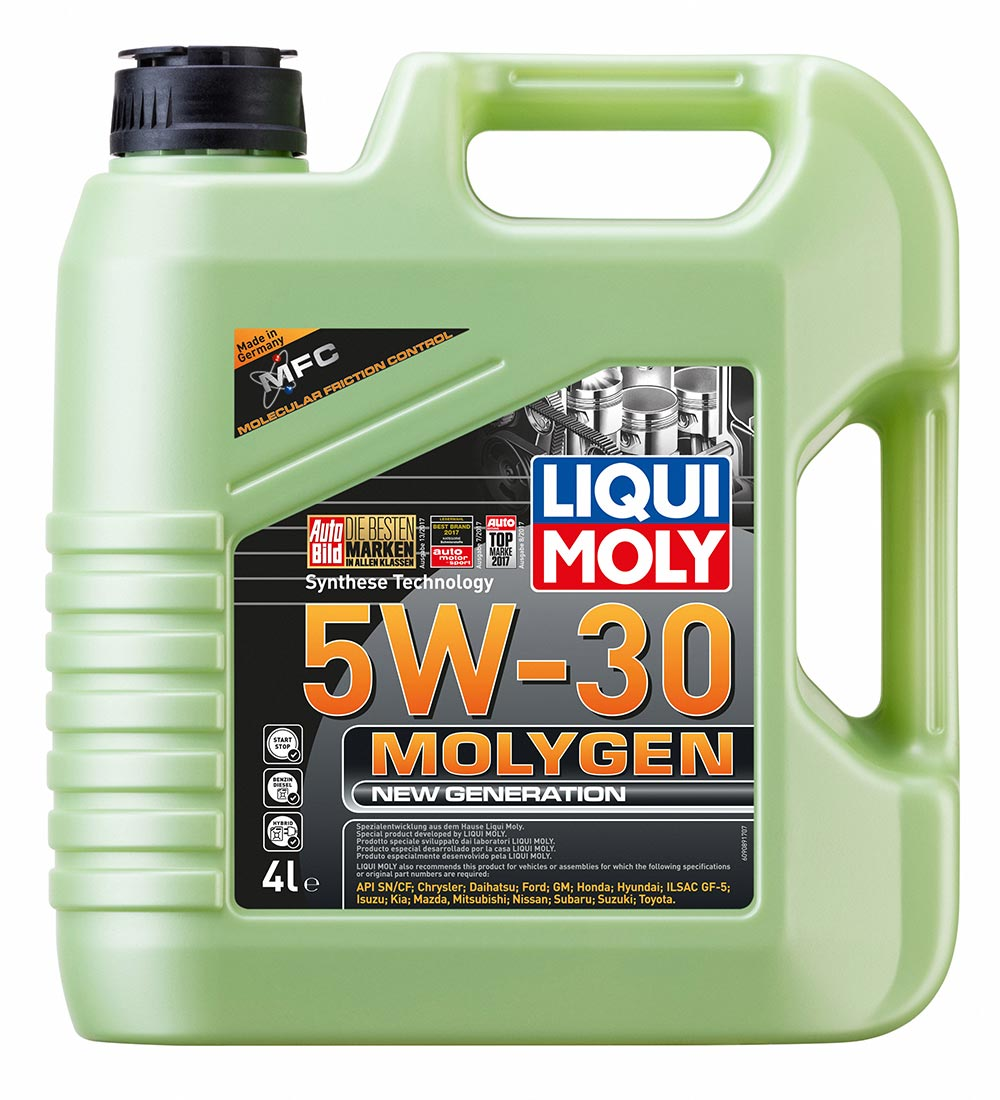 Масло моторное синт. Molygen New Generation 5W-30 SN/СF. ILSAC GF-5 (4л)