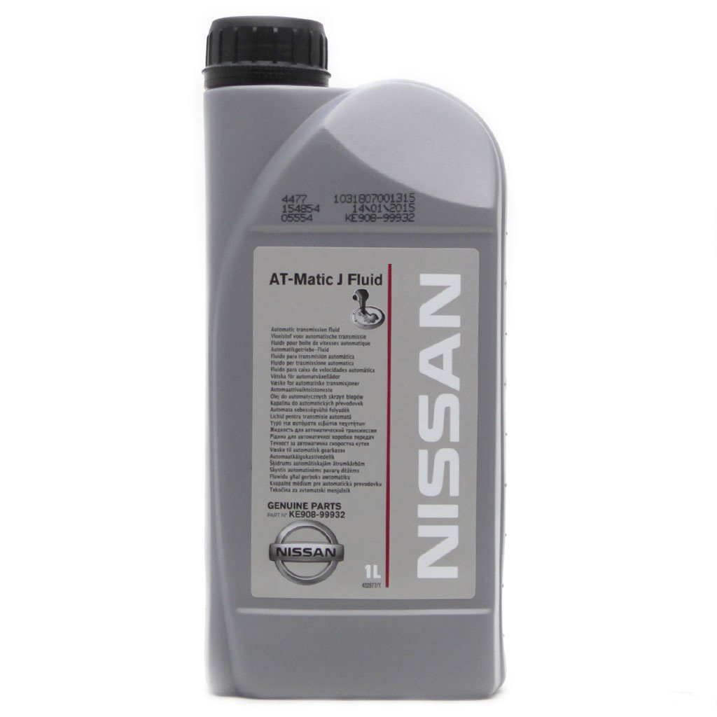 Масло трансм NISSAN AT-Matic J Fluid NISSAN (1л)